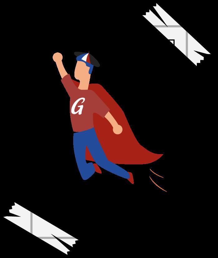 Le Gourmeur super heros