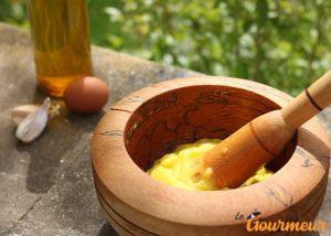 aïoli recette et plat d'occitanie et du languedoc-roussillon tartinable apéro