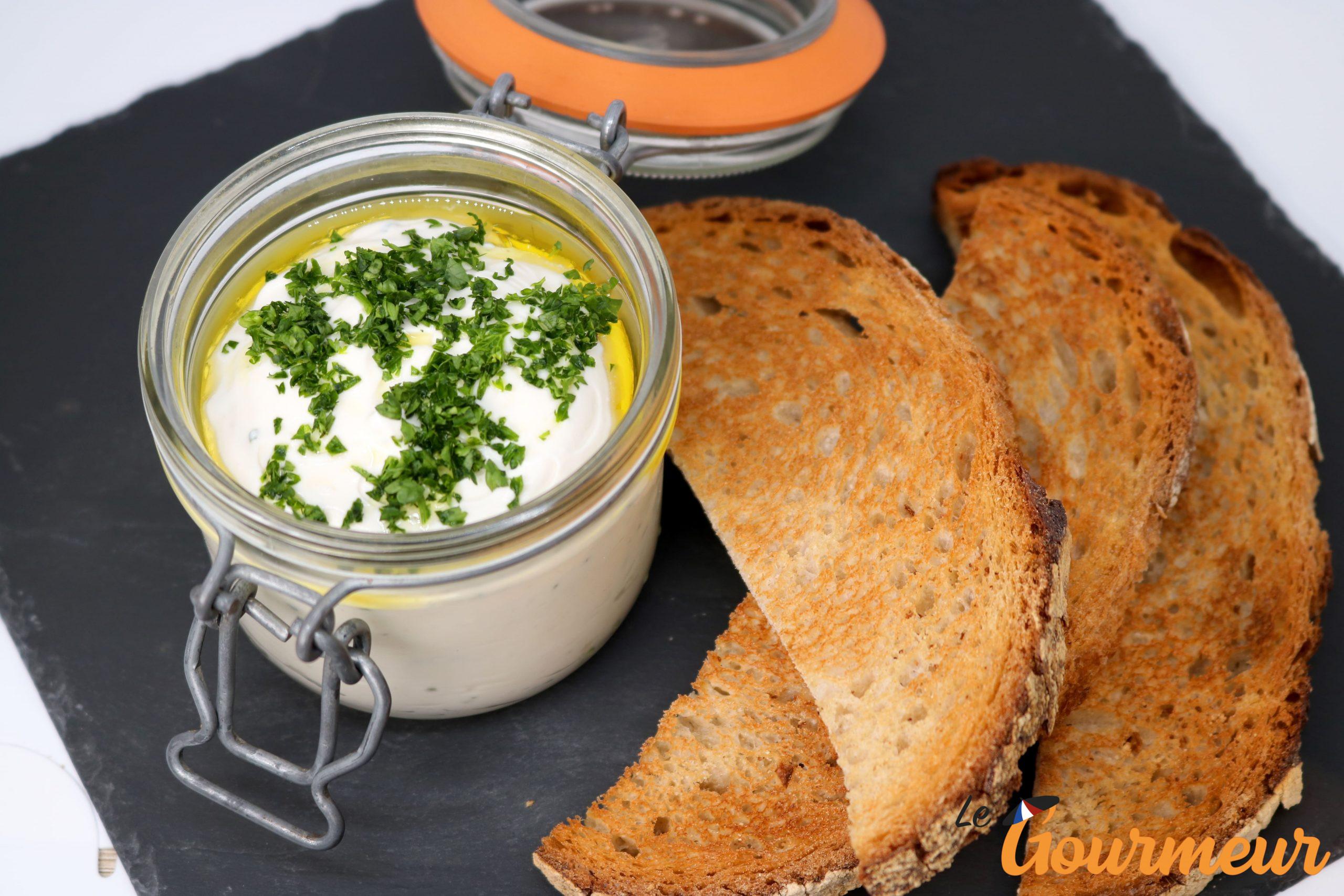 cervelle de canut fromage spécialité de Lyon