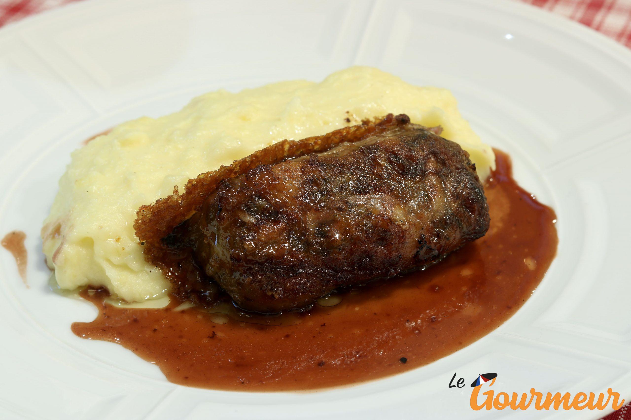 crépinette de pieds de porc recette et plat du Limousin
