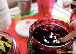 ketchup et beurre de cassis