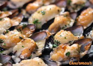 moules gratinées à l'aïoli recette et plat du pays catalan perpignan