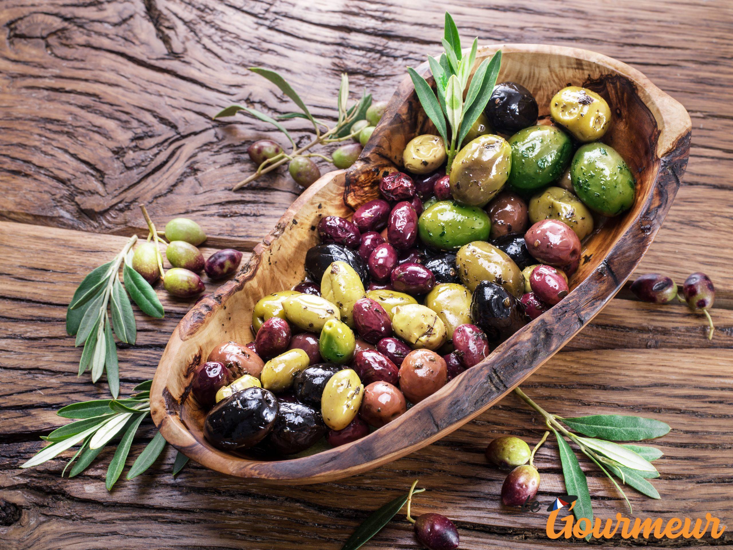 Olives de table en Languedoc-Roussillon et ses AOP occitanie