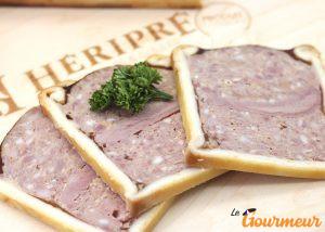 pâté en croûte de canard d'Amiens charcuterie Picardie