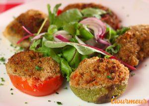 petits farcis recette et plat de provence et de méditerranée