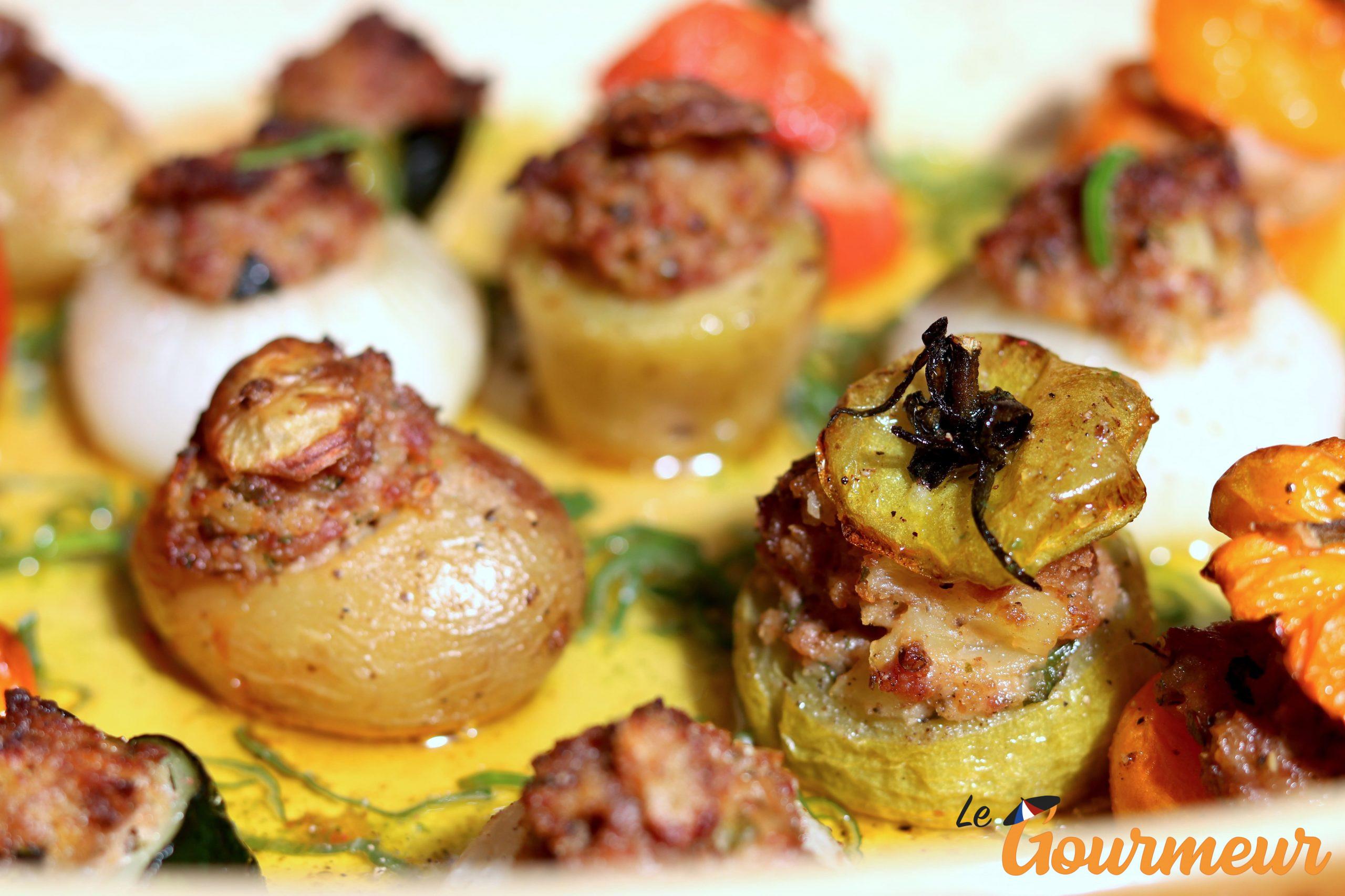 petits farcis recette et plat de Provence