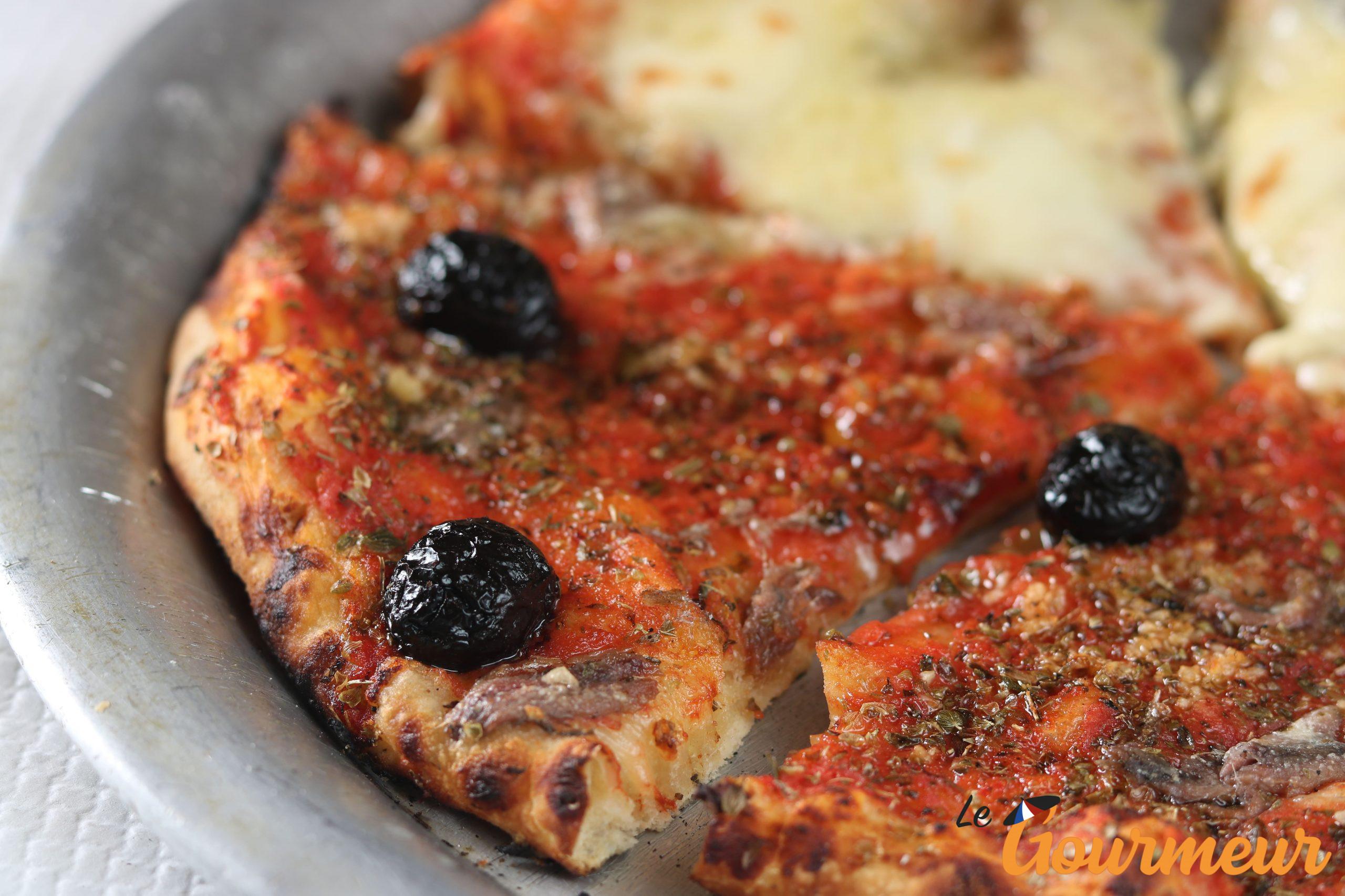 pizza marseillaise anchois