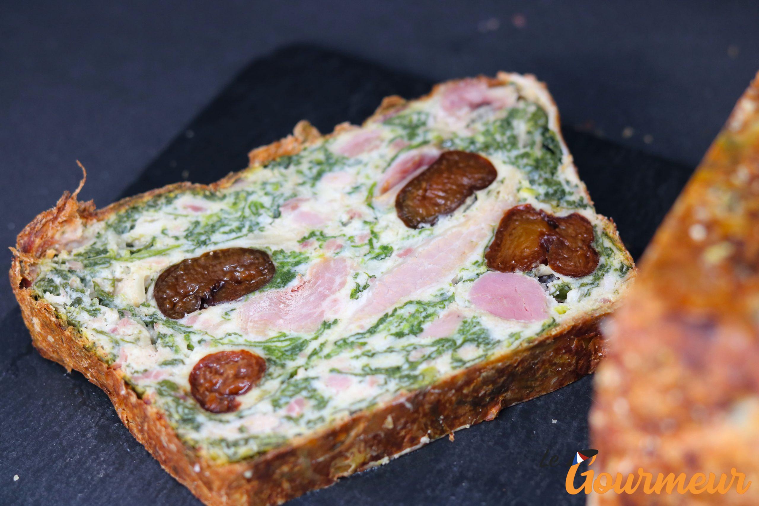 pounti recette et plat d'Auvergne