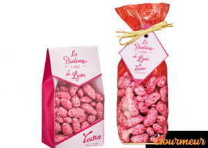 praline rose confiserie spécialité de Lyon