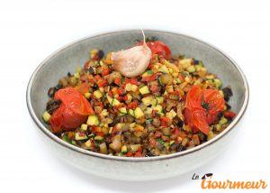 ratatouille recette et plat de Provence et de Méditerranée