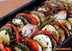 tian de légumes recette et plat de provence et de méditerranée