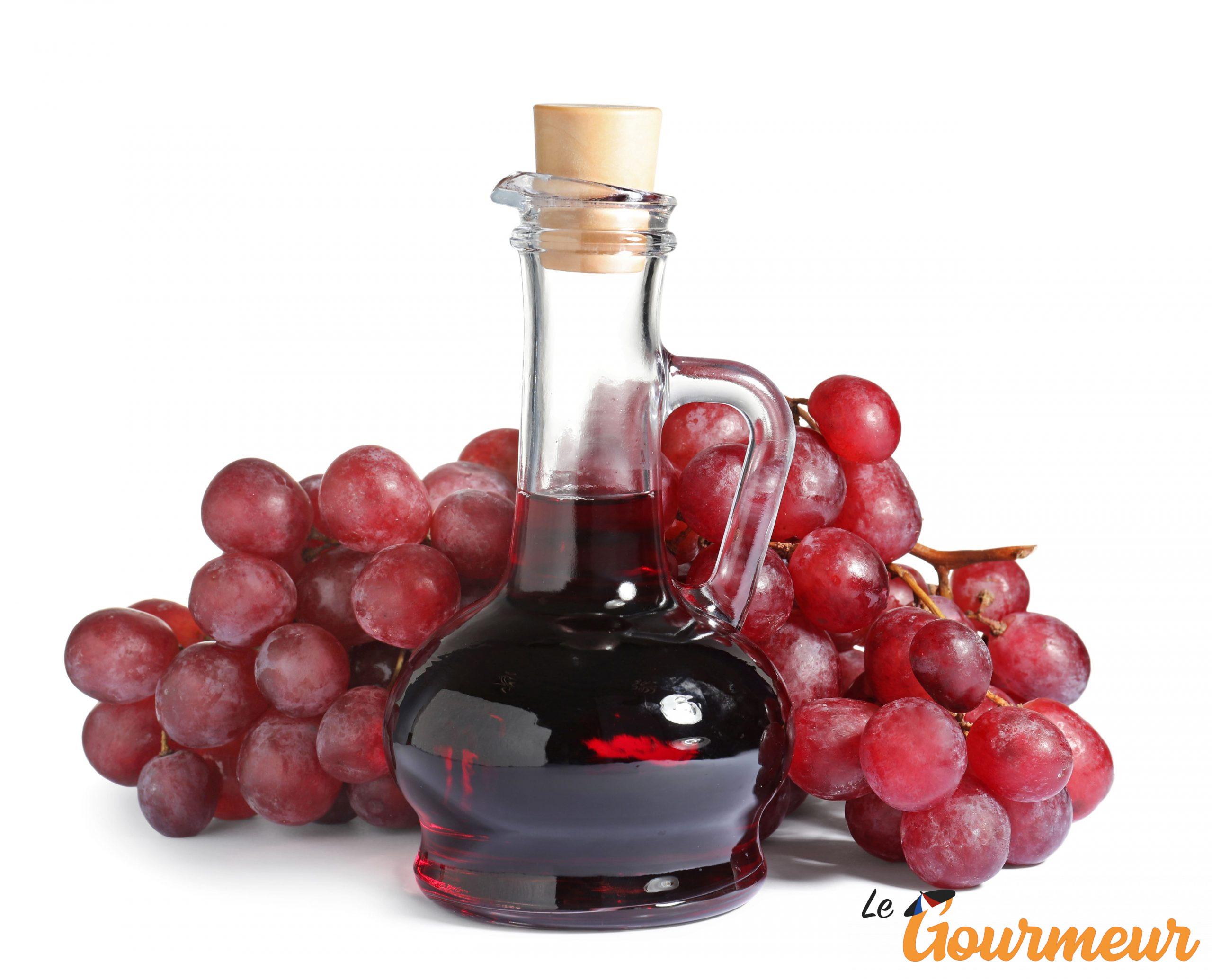 vinaigre de raisin