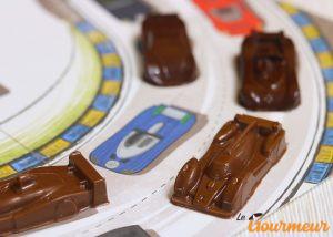 voitures chocolat - bugattises bolides