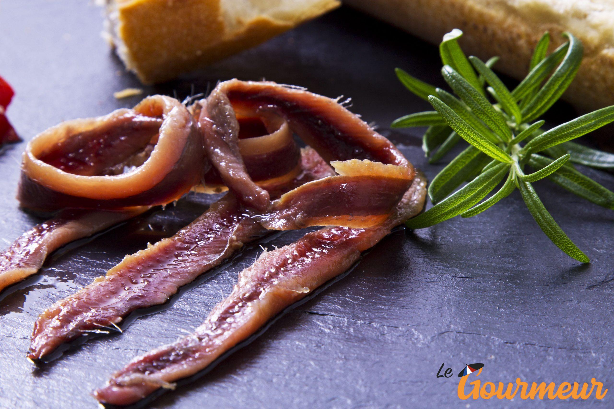 anchois et anchoïade recette et produit de Provence et de Méditerranée