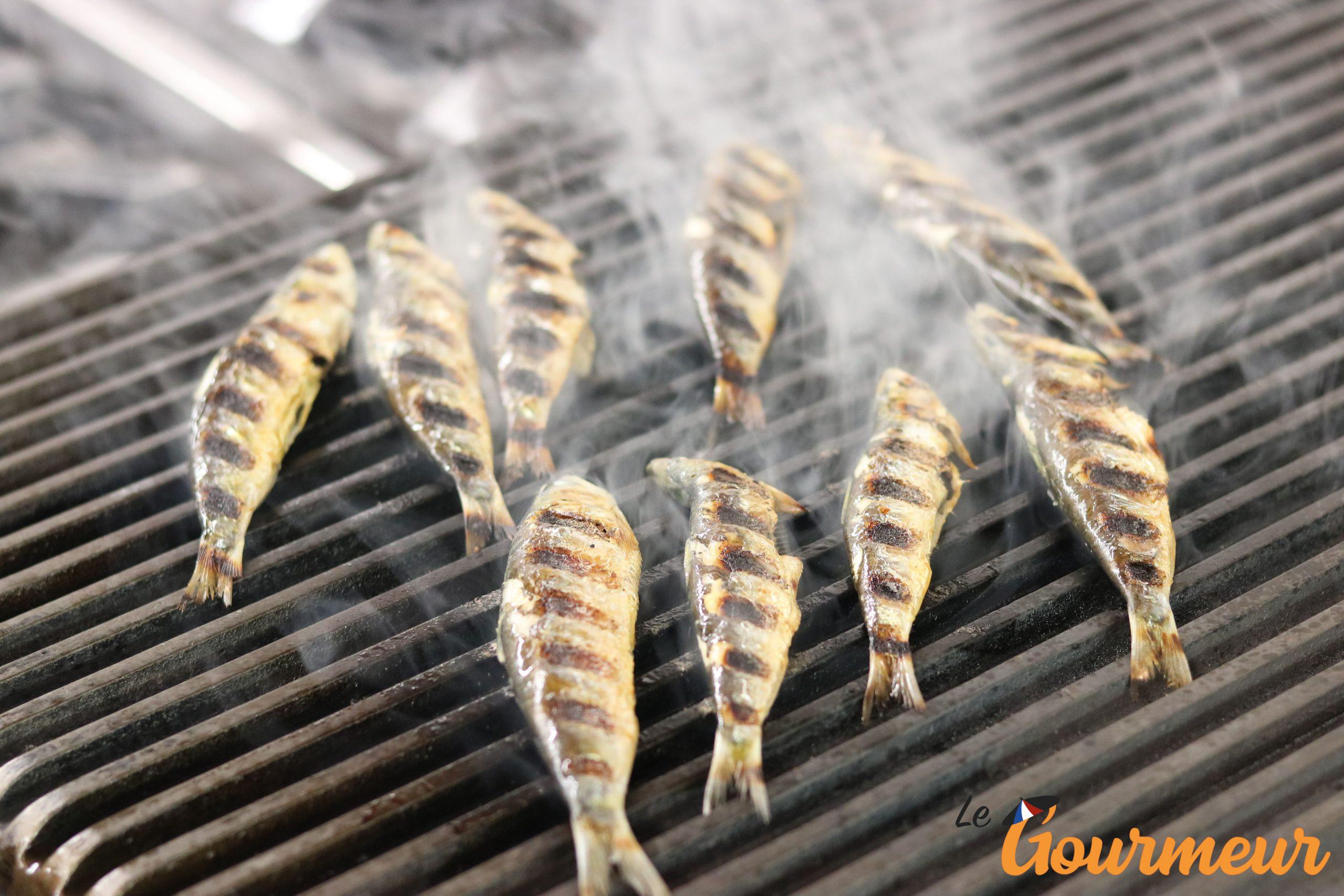 sardinade et sardines grillées recette et plat de Provence et de méditerranée