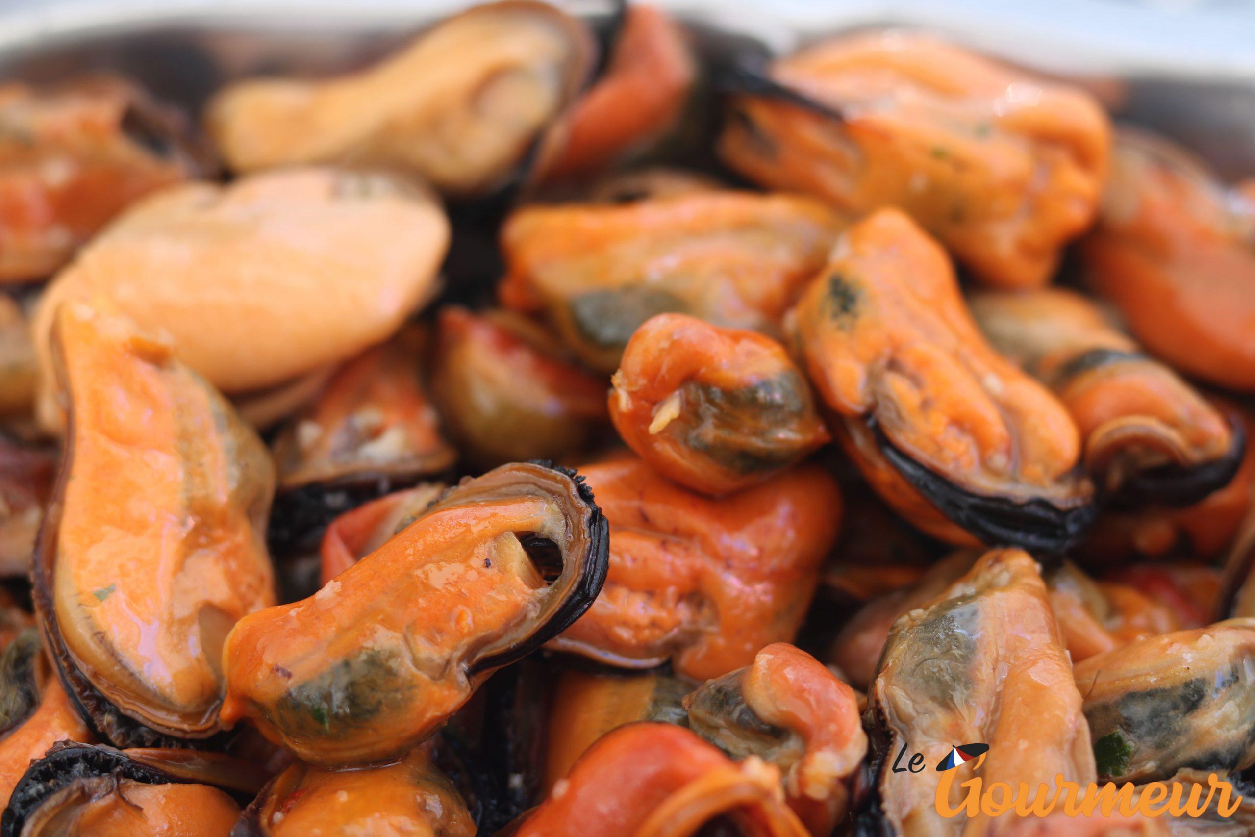 piste de moule recette et plat d'occitanie et du Languedoc-Roussillon