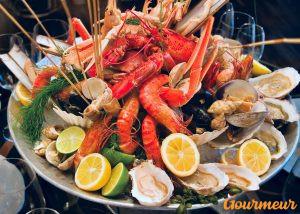 plateau de fruits de mer brest bretagne