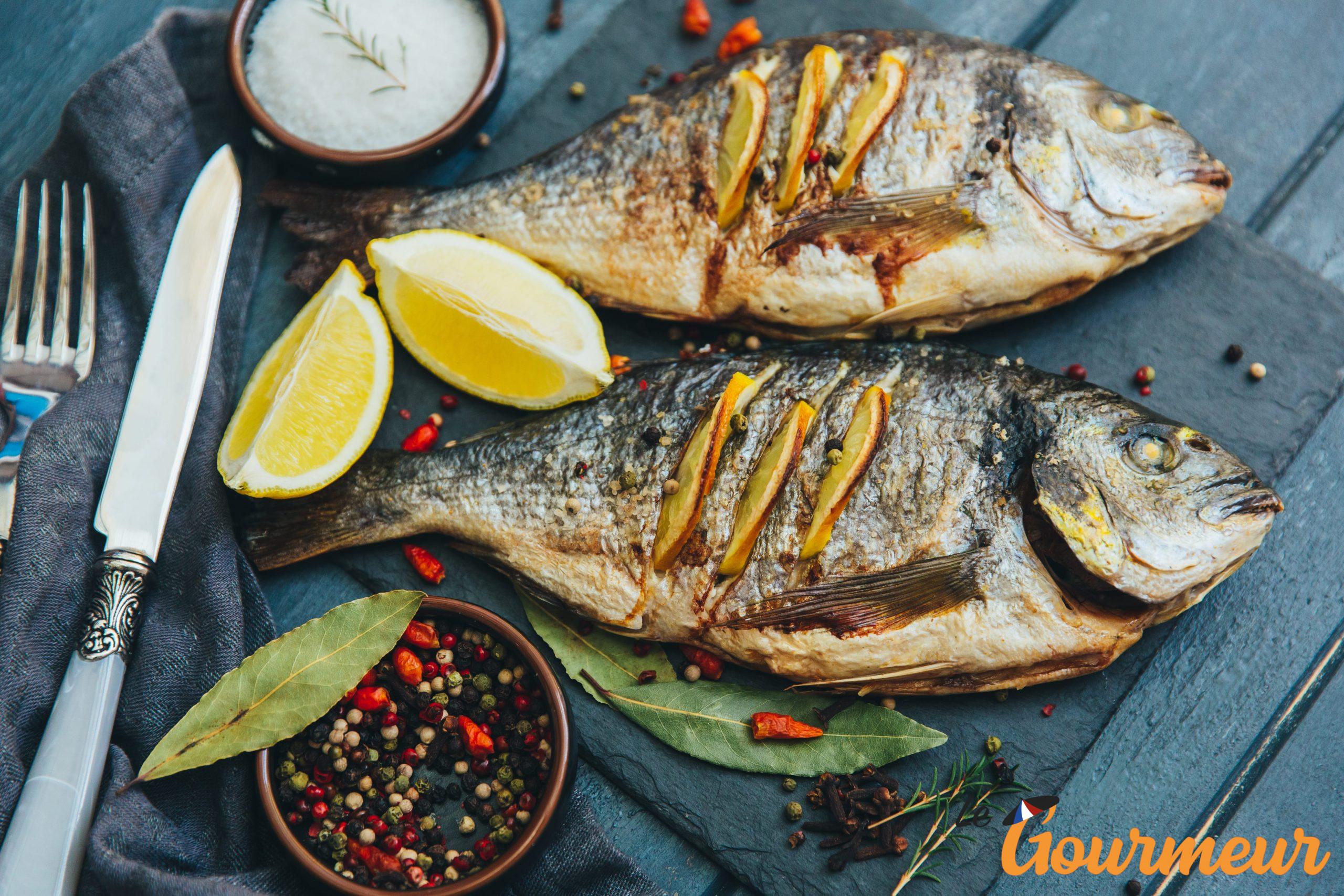 poisson de méditerranée recette et plat de Provence et de Méditerranée