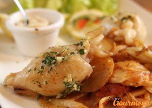 seiches grillés plat et recette de provence et d'occitanie