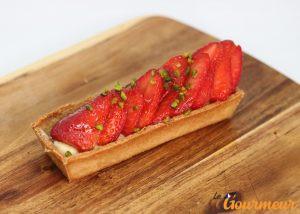 tarte aux fraises de carpentras pâtisserie de provence