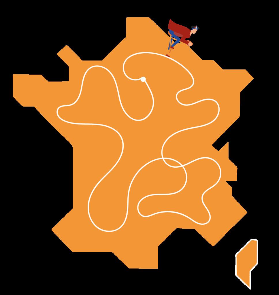 Le tour de France du Gourmeur